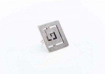 Посребрен пръстен КН-0303004024